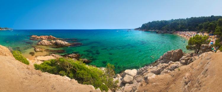 Best Beaches in Costa Brava Platja de Treumal, Selva