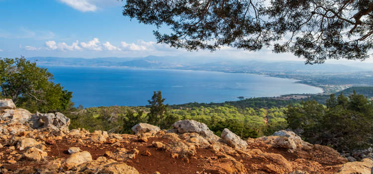 Nature trails of Akamas