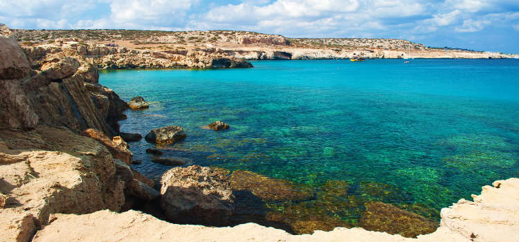 Blue Lagoon - best beaches in paphos