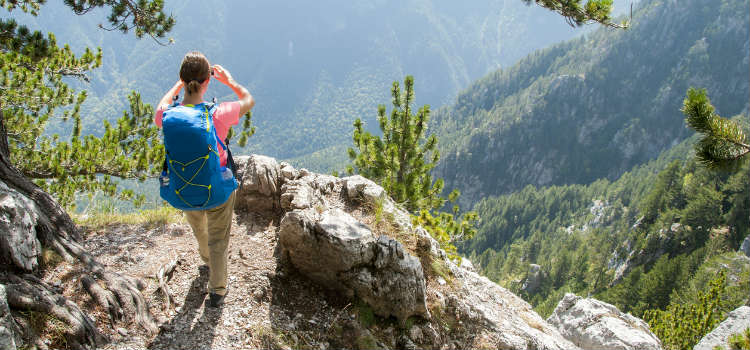 Hike to the top of Mount Olympus