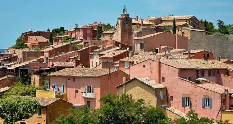 Roussillon, Cote d'Azur, France