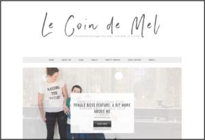 Le Coin De Mel - Top 10 Mummy blogs