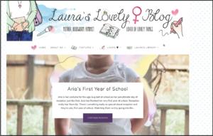 Laura's Lovely Blog - Top 10 Mummy blogs