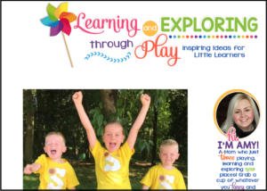 Learning and exploring through play - UK Mummy Blog