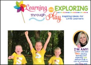 Learning and exploring through play - UK Mummy Blog