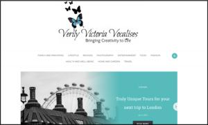 Verily Victoria Vocalises - UK Mummy Blog