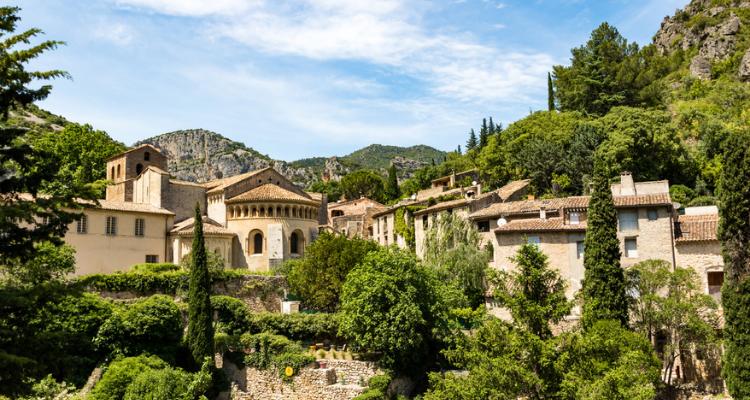 St-Guilhem-le-Désert, Languedoc, France