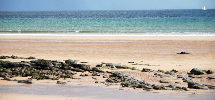 best beaches in northumberland beadnell bay