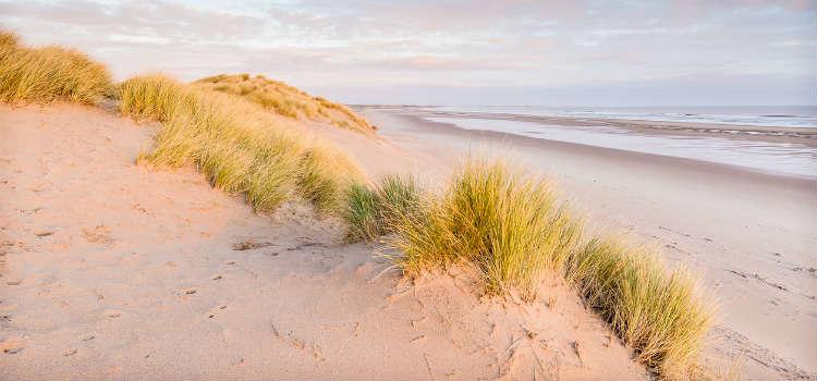 best beaches in northumberland druridge bay