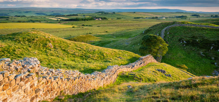 hadrians wall things to do in northumberland