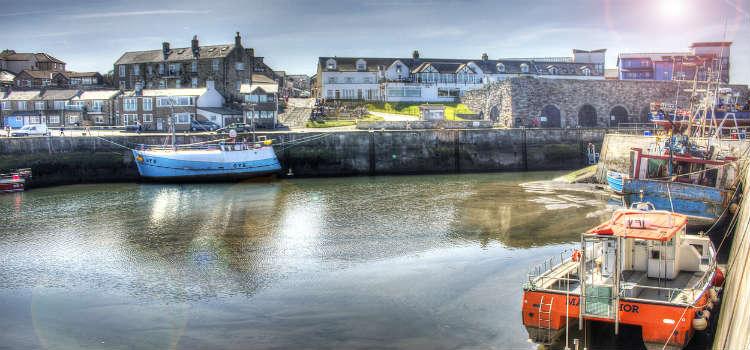 northumberland travel guide seashouses coastal town
