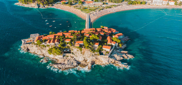 sveti stefan montenegro travel