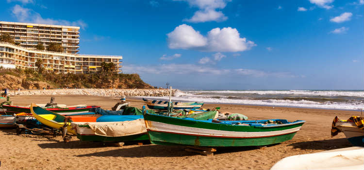 Playa de la Carihuela Torremolinos Costa del Sol