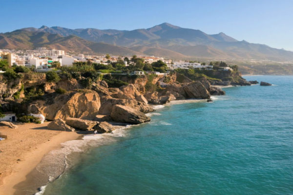 best beaches in costa del sol nerja