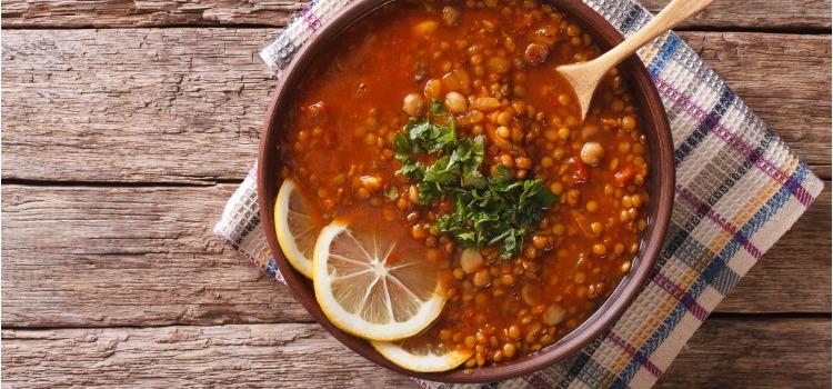 harira moroccan dishes