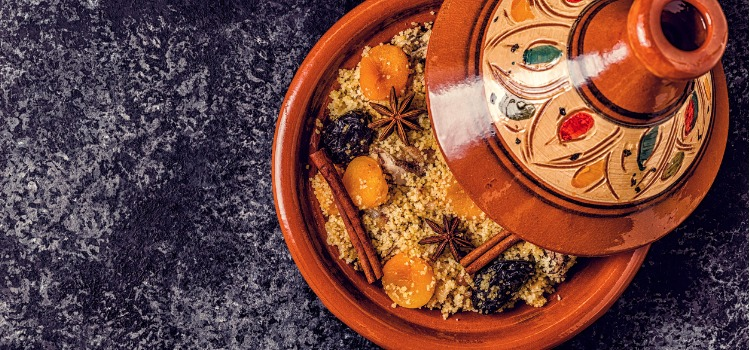couscous moroccan dishes