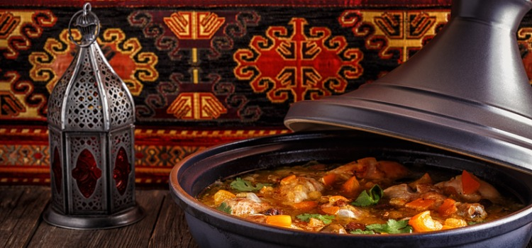 Tagine moroccan dishes