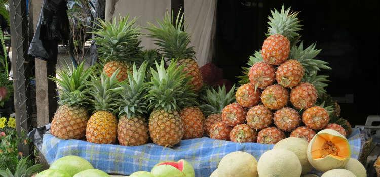 Market Stall in Antigua