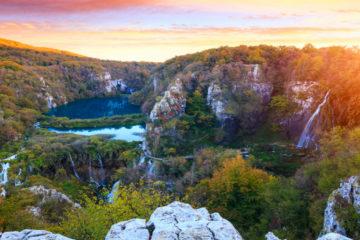 Plitvice National Park dalmatian coast travel guide