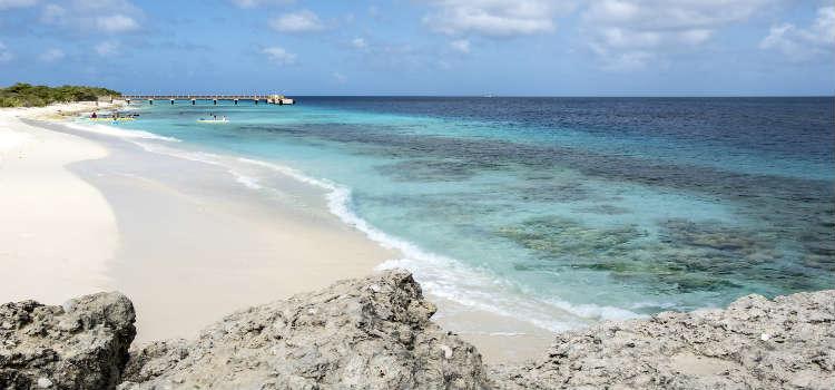 Te Amo Beach in Bonaire