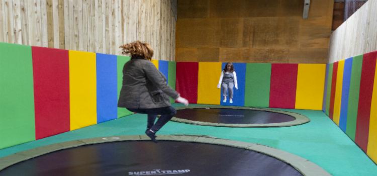 CHICKS Daleside retreat trampolining