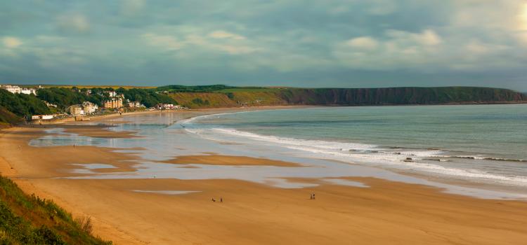 Filey Beach - Best beaches in Yorkshire