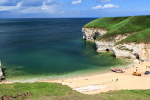 North Landing - Best beaches in Yorkshire