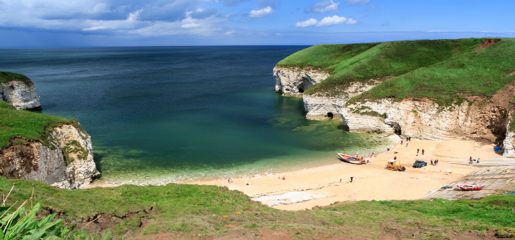 North landing beach