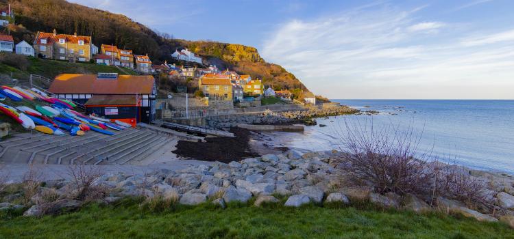 Runswick Bay - Best beaches in Yorkshire