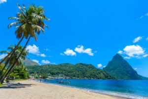 best beaches in st lucia