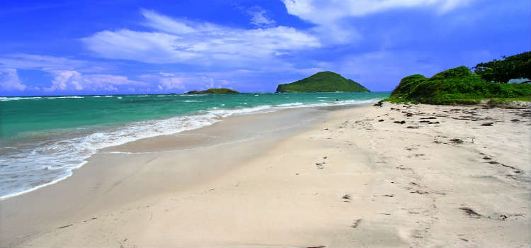 Anse de Sables beach St Lucia
