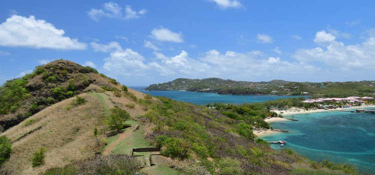 Pigeon Island Beach St Lucia