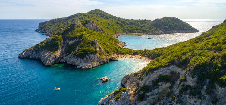 best european beach vacations - corfu