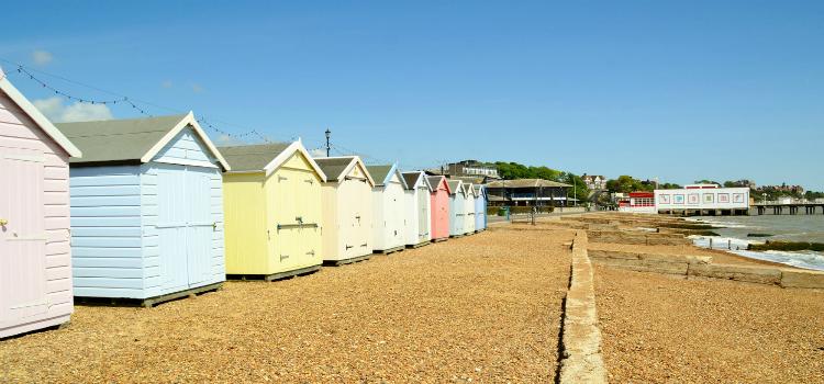 Felixstowe Beach Suffolk