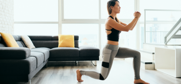 Home workouts with a twist