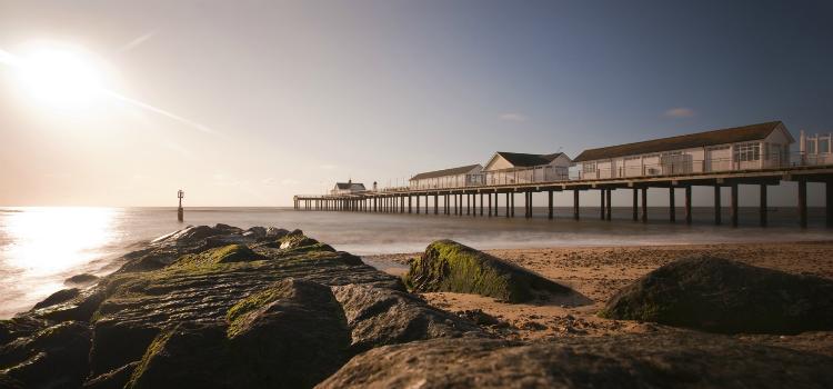 Southwold Pier Beach Suffolk