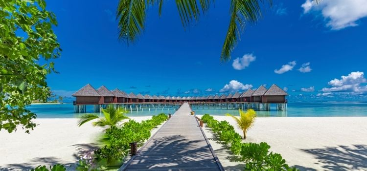 The Maldives Where is hot in March