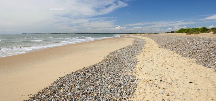 Walberswick Beach Suffolk