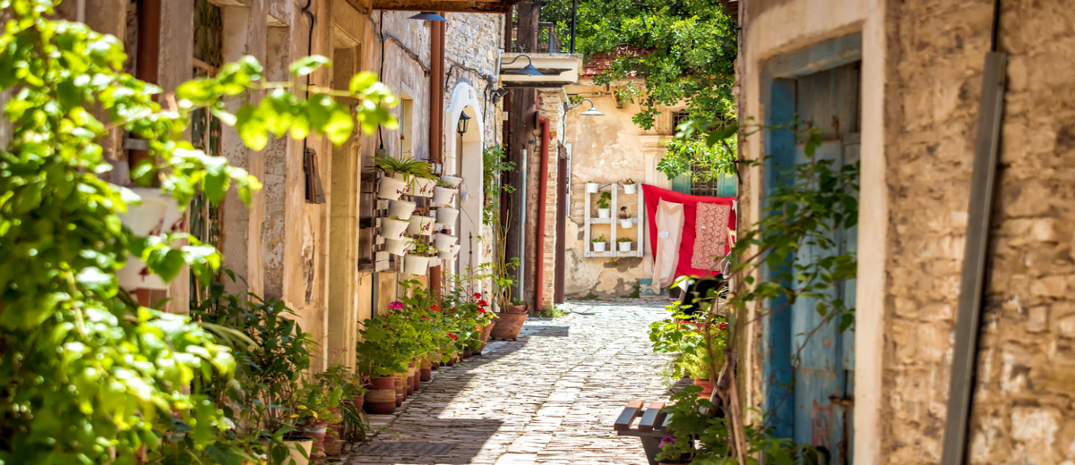 things to do in cyprus A quiet street in an old village of Pano Lefkara