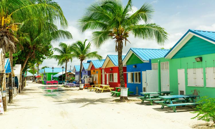 Barbados huts