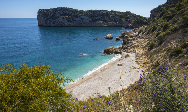 Cala De Ambolo Javea Beach Bucket List