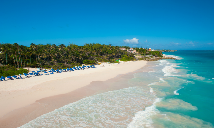 Best Beaches in Barbados Crane Beach