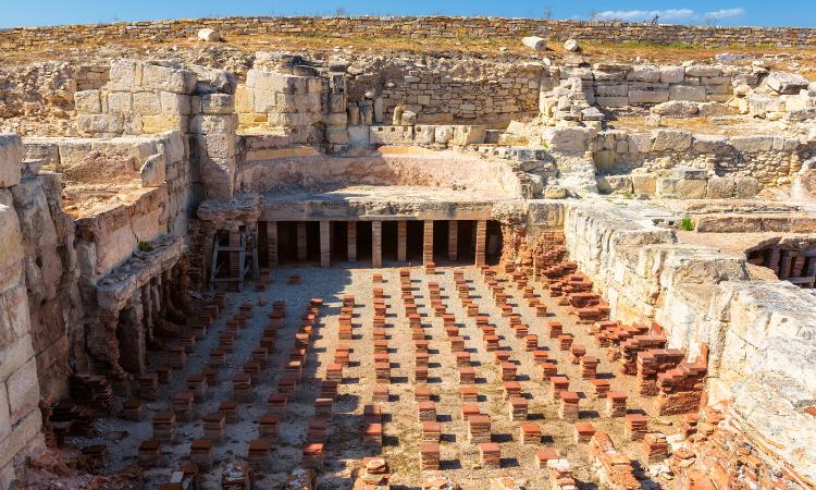Kato Paphos Archaeological Park, Cyprus