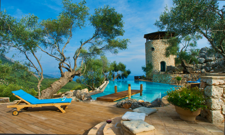 Quirky places to stay Magic Rocks Corfu