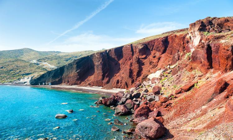 Red beach Santorini Beach Bucket List