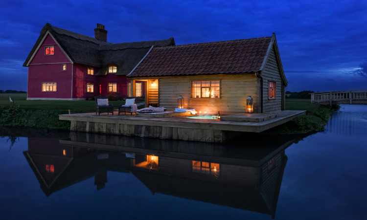 Quirky places to stay the Moat House