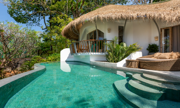 Quirky places to stay Villa Hanfa Phuket