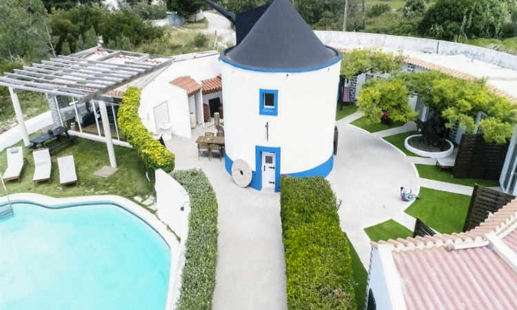 Quirky places to stay Villa Ondina, Portugal