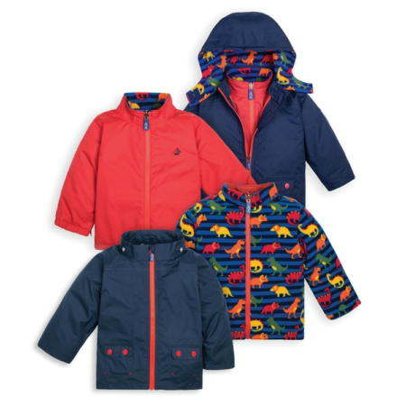 Sustainable items: 4-in-1 jacket