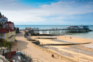 Cromer seaside town in Norfolk - South East Coastal Path
